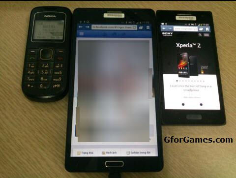 Another claimed Samsung Galaxy Note 3 photo leaks, sizing up a huge display