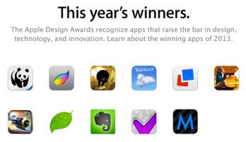 Apple announces winners of 2013 Design Awards