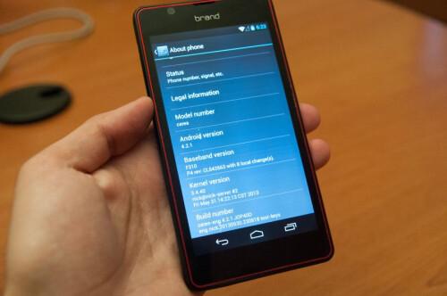 NVIDIA shows Tegra 4i reference design 'brand' phone