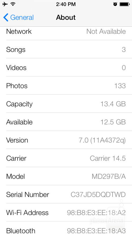 iOS 7 preview images