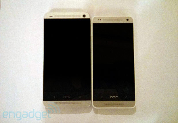 Is that the HTC Mini (R) we see? - HTC One Mini spotted in picture