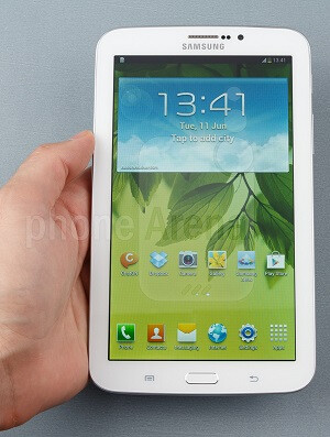 The Galaxy Tab 3 7-inch is arguably the largest phablet yet