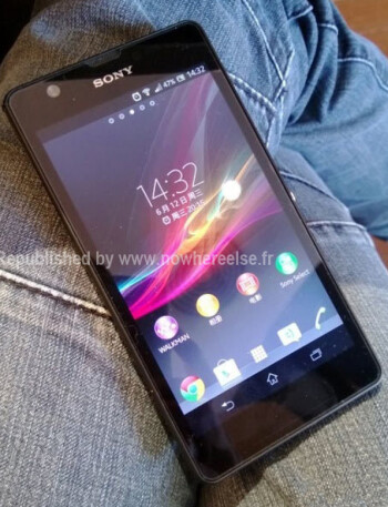 Sony Xperia ZU image surfaces ahead of official announcement