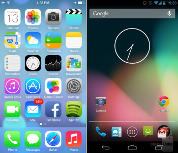 iOS 7: how does it stack up against Android?
