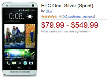 Friday only, you can buy the HTC One from Amazon for as low as $79.99