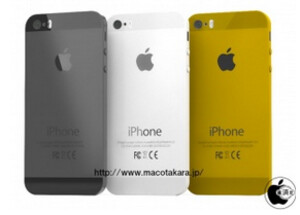 The Apple iPhone 5S is rumored to be coming in gold - Apple iPhone 5S coming in gold?