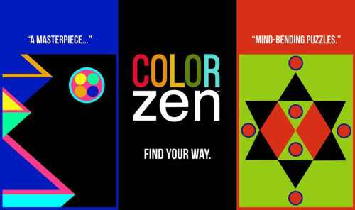 Color Zen - Android, iOS - $0.99