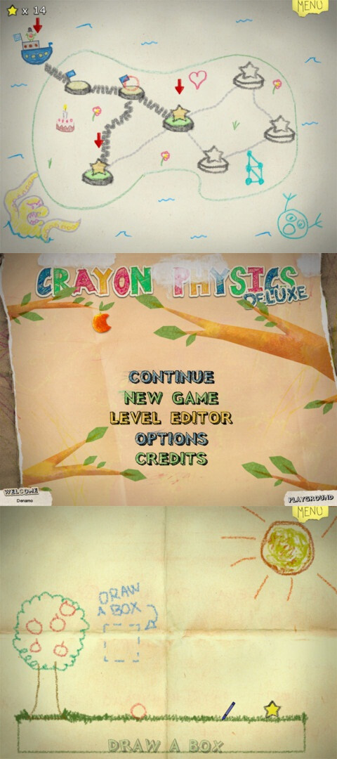 Crayon Physics Deluxe - Android, iOS - $2.99