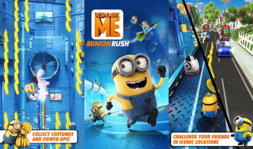 Despicable Me: Minion Rush - Android, iOS - Free