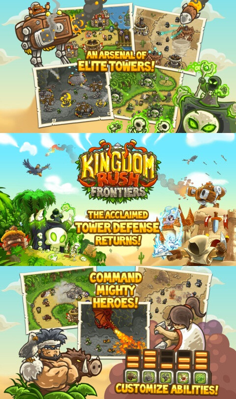Kingdom Rush Frontiers - iOS - $2.99