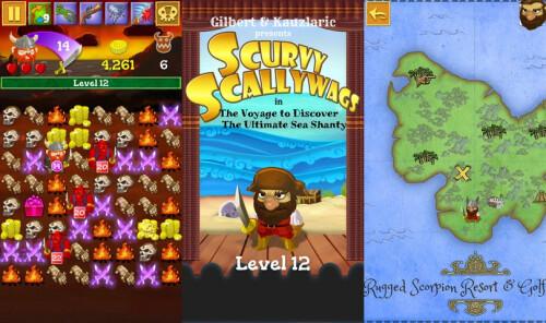 Scurvy Scallywags - iOS - $1.99
