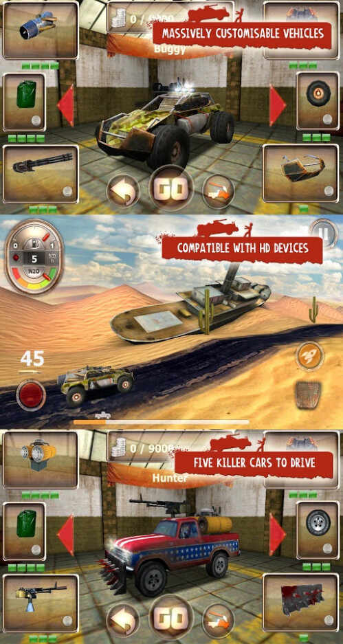 Zombie Derby - Android - Free