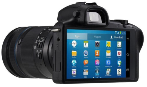 Samsung NX 20 MP camera with Android on board