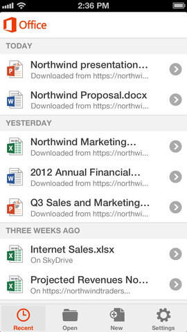 Microsoft finally launches its Office Mobile for iPhone and iPad on Apple App Store