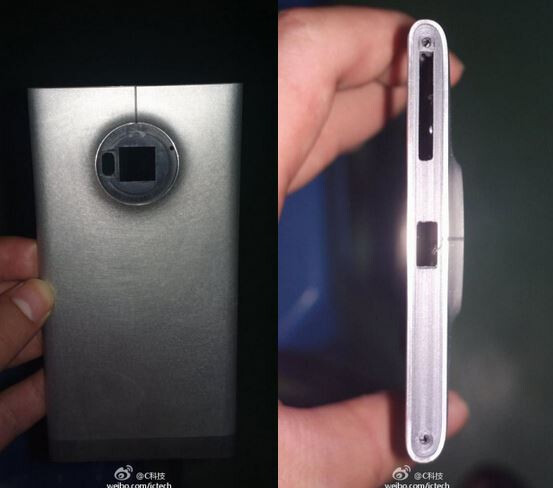 Aluminum Nokia EOS chassis leaks out, 41 MP PureView sensor stamped in