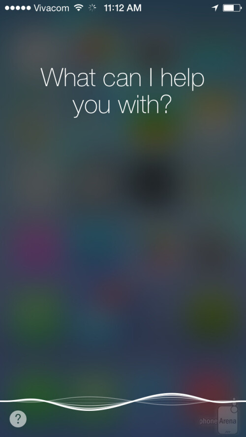 The new Siri interface
