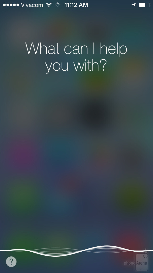 The new Siri interface