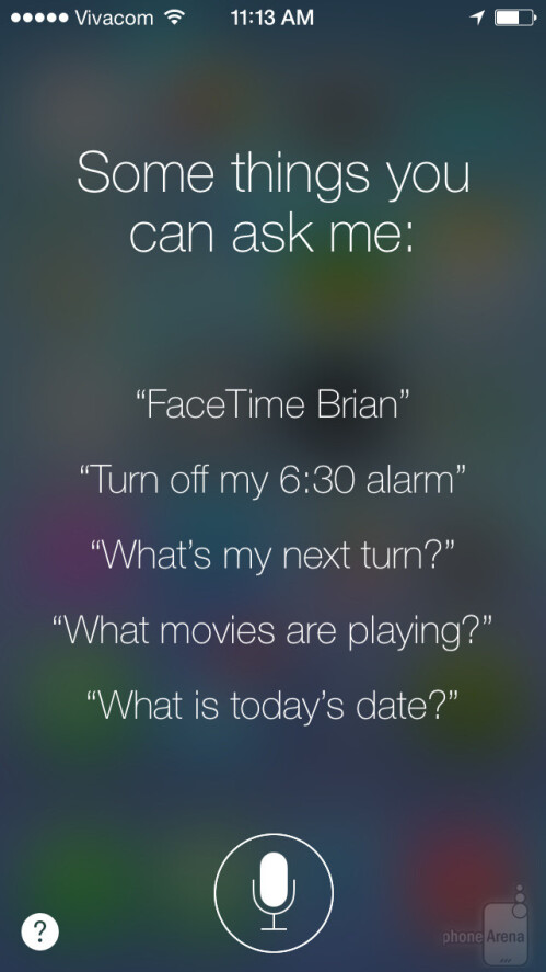 Some things you can ask Siri