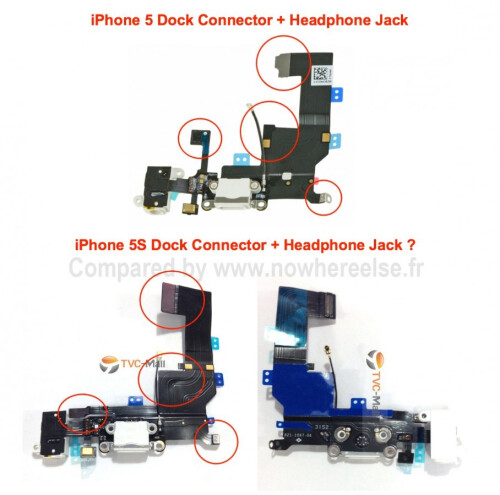 More iPhone 5S internal components leak, same story as always