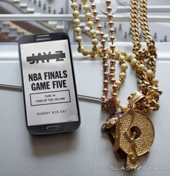 Samsung sends out an invitation to an event with Jay-Z to take place during the NBA Finals this Sunday