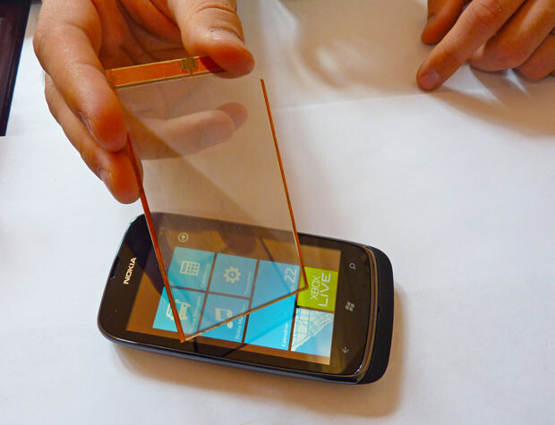 Transparent solar films add 20% to your phone's battery life on the cheap
