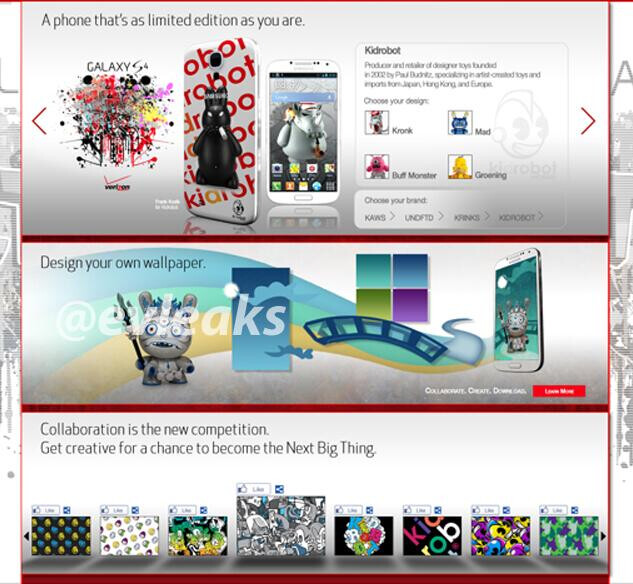 Limited edition Samsung Galaxy S4 coming to Verizon? - Verizon may launch limited edition Samsung Galaxy S4