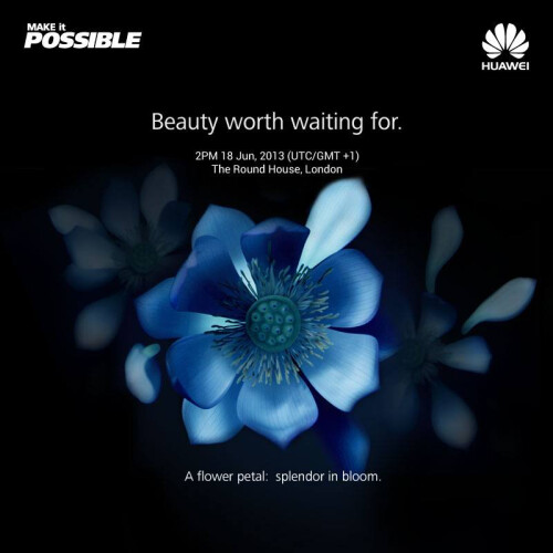 Huawei pumps excitement around the thin Ascend P6 some more