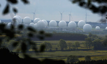 Menwith Hill Photograph by Nigel Roddis/Reuters