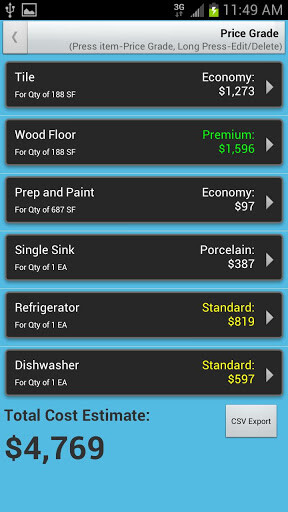 DIY Remodel Cost Calculator