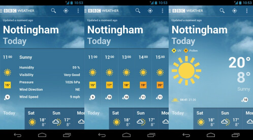 BBC Weather - Android - Free