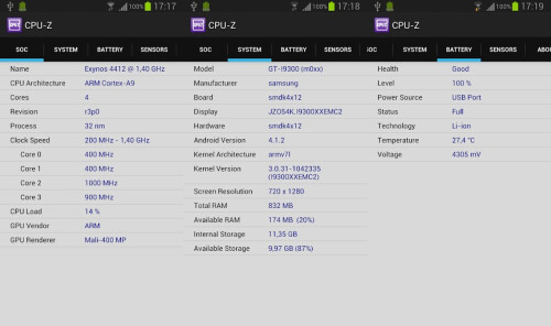 CPU-Z - Android - Free