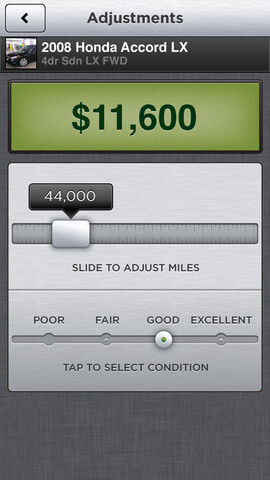Screenshots from Vinny - Here are two apps that make buying a used car less painful