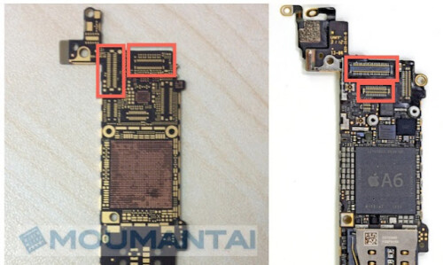Apple iPhone 5S display assembly leaks