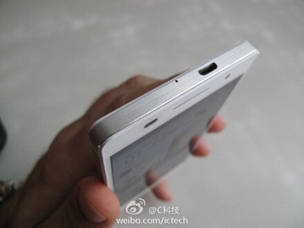 Anorexic white Huawei Ascend P6 leaks out in full metal glory