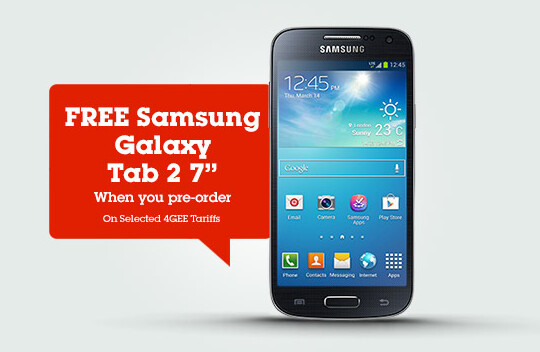 Phones 4u and EE have a special deal for Samsung Galaxy S4 mini pre-orders - Samsung Galaxy S4 mini pre-orders now accepted at U.K.'s Phones 4u with delivery set for July 1st
