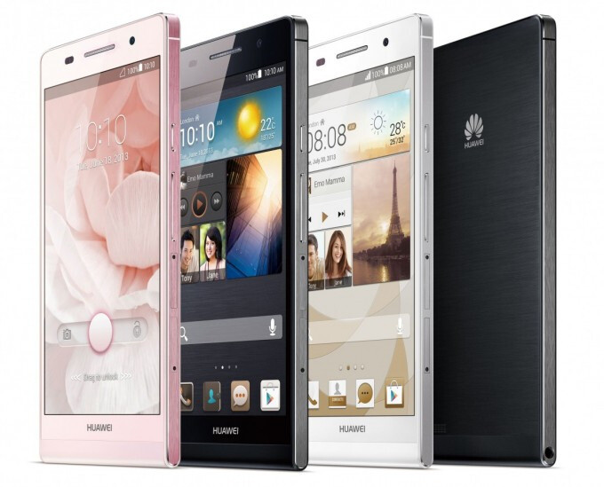 """Huawei Ascend P6 now official – """"world's slimmest smartphone"""""""