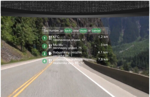 LiveMap Motorcycle Helmet with Navigation