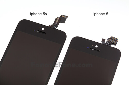 Alleged iPhone 5S display front pops up in high-res, no visible changes to the home key cutout