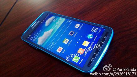 Samsung Galaxy S4 Active leaks out in Blue Arctic