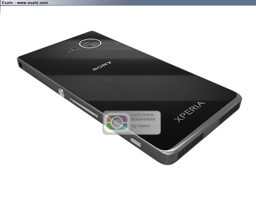 Sony i1 Honami cameraphone prototype gets rendered