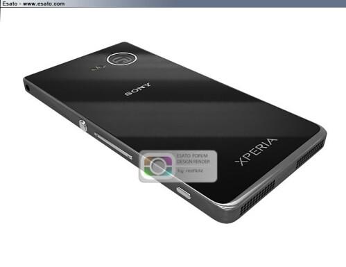 Sony i1 Honami cameraphone prototype gets rendered