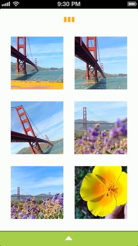 Screenshots from the brand new Lytro app for iOS - Lytro releases app for iOS