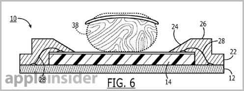 Apple patent filing hints at fingerprint scanner package suitable for mobile
