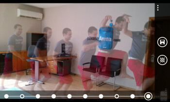 Composing action shots using Nokia Smart Cam