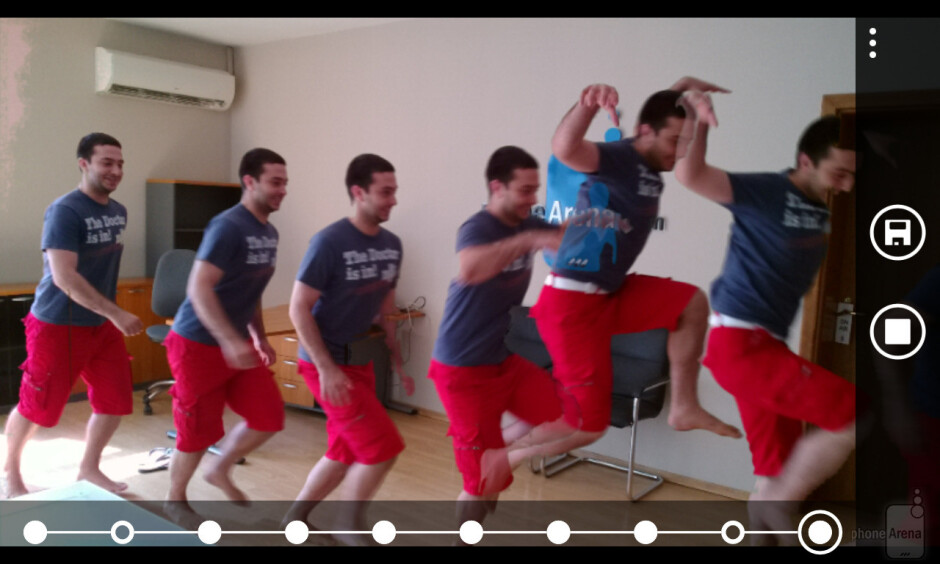 Composing action shots using Nokia Smart Cam - Nokia Smart Cam on the Nokia Lumia 925 is the cure for photobombs, here's a demo