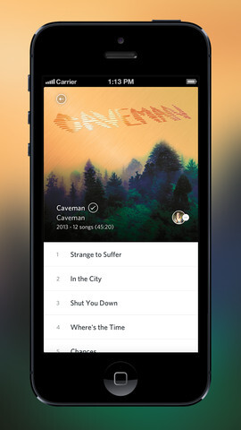 Rdio updates iOS app with more options to listen to similar songs