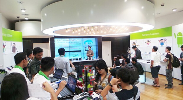 An Android Nation store is already open in Jakarta - Android Nation retail stores to open in India, helped by Google