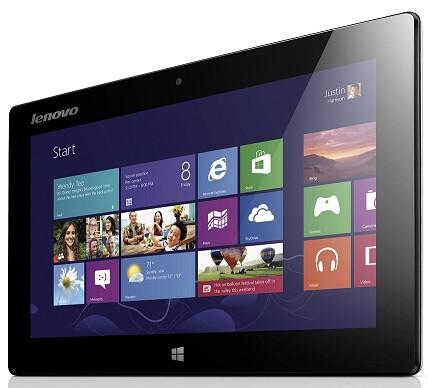"Lenovo Miix 10"" Windows 8 tablet sports 64 GB of storage and a keyboard folio"