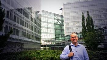 Picture of Nokia's SVP Kevin Shields taken in Finland by Microsoft's Joe Belfiore