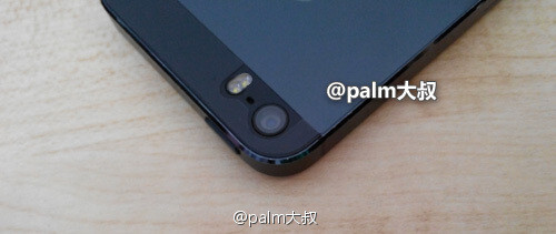 Another leak of the Apple iPhone 5S allegedly shows off a dual-flash - Another leaked Apple iPhone 5S photo shows dual LED flash